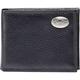 Pilot Wings Medallion Black Leather Wallet