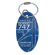 United Airlines Boeing 747 400 Series PlaneTag™