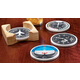 Instrument Stoneware Coasters