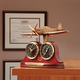 P-51 Mustang Tribute Desk Clock and Thermometer