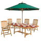 Eight-person Teak Outdoor Dining Set