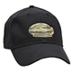 P-51 Mustang Airplane Cap with Brass Emblems