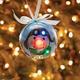Lighted Aviator Snowman LED Christmas Ornament
