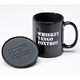 Whiskey Tango Foxtrot Coffee Mug and Coaster Set