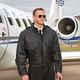 Airline Captain's Leather Flight Jacket