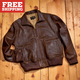 Leather B-2 Bomber Jacket