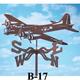 Garden Airplane Weathervanes