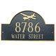 Aviation House Marker (Wall)