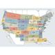 Complete Set of En Route Low Altitude Charts plus an Area Chart