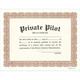 Private Pilot Certificate