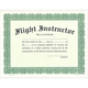 Flight Instructor Certificate