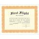 First Flight Certificate
