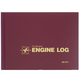 SE-2 Engine Logbook (Burgundy - Hardcover - 94 Pages)