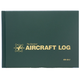 SA-2 Aircraft Logbook (Green - Hardcover - 94 Pages)