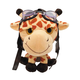 Giraffe the Aviator Stuffed Animal