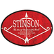 Vintage Aircraft Logo Silhouette Metal Signs