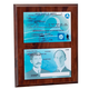 Classic Dual-Sided Pilot License Plaque