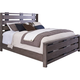 Broyhill Furniture Moreland Avenue King Bed in Acacia