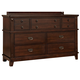 Standard Furniture Sonoma Dresser in Dark Brown 86609