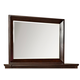 Standard Furniture Sonoma Mirror in Dark Brown 86608