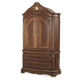 AICO Cortina Armoire in Honey Walnut