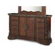 AICO Excelsior Dresser in Fruitwood N59050-47
