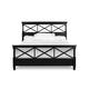 Magnussen Furniture Regan King Panel Bed in Black B1958-64