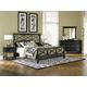 Magnussen Furniture Regan 4-Piece Panel Bedroom Set in Black