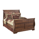 Timberline Queen Sleigh Bed in Cherry