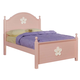Acme Floresville Arched Twin Panel Bed in Pink 00735T
