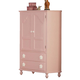 Acme Floresville TV Armoire in Pink 00743