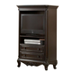 Homelegance Cinderella Armoire in Dark Cherry 1386NC-7