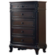 Homelegance Cinderella Chest in Dark Cherry 1386NC-9