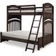 Legacy Classic Kids Academy Twin Over Full Bunk Bed in Molasses 5810-8140K