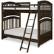 Legacy Classic Kids Academy Twin Over Twin Bunk Bed in Molasses 5810-8110K