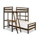 Smartstuff myRoom Twin Loft Bunk Bed in Parchment 5321630