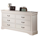 ACME Louis Philippe III Drawer Dresser in Cream 22505