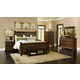 Broyhill Estes Park Poster Bedroom Set in Artisan Oak