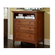 A-America Westlake Media Chest in Brown Cherry WSLCB5740