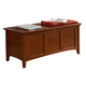 A-America Westlake Cedar Lined Trunk in Brown Cherry WSLCB5800
