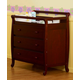 DaVinci Baby Emily Collection 3 Drawer Changer Dresser in Cherry M4755C