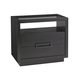 Lexington Furniture Carrera Veneno Nightstand in Charcoal 911-622