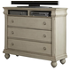 Liberty Furniture Rustic Traditions Media Chest in Rustic White 689-BR45