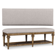 A.R.T. Pavilion Bed Bench in Bisque 229149-2608