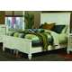 Coaster Sandy Beach King Panel Bed in White