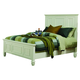 Coaster Sandy Beach Queen Panel Bed in White