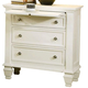 Coaster Sandy Beach Nightstand in White 201302 SPECIAL