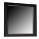 Coaster Sandy Beach Mirror in Black 201324