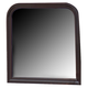 Coaster Louis Philippe Mirror in Cappuccino 203984N