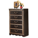 Coal Creek Chest in Dark Brown